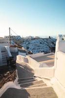 ochtend op Santorini foto