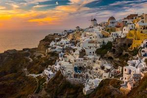 Santorini, Griekenland foto