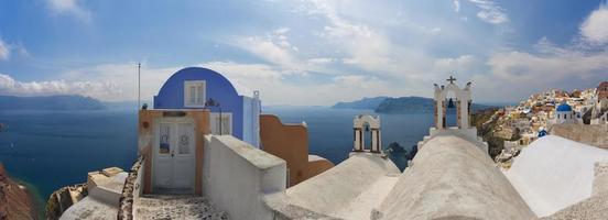 geweldige Santorini. foto