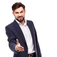 zeker zakenmanportret