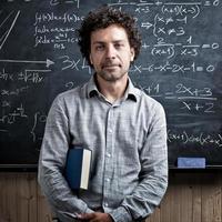 portret van de leraar foto