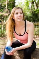 fitness meisje foto