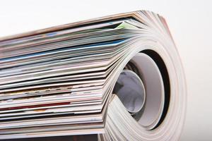 tijdschriften van dichtbij foto
