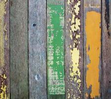 houten muur