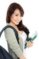 gelukkig studentenportret foto