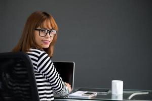 portret van zakenvrouw