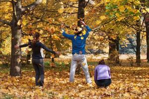 geniet van de herfst foto