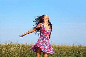 genieten van vrijheid