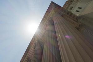 neo-klassieke kolommen foto