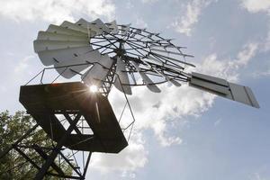 antieke windmolen foto