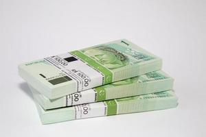 Braziliaanse geld op tafel
