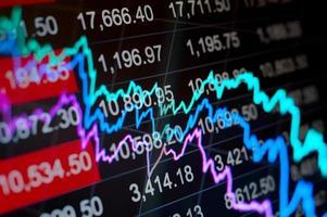 abstracte financiële achtergrond foto