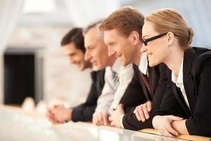 commercieel team. foto