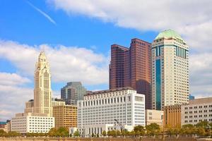 Columbus Ohio, gebouwen in het centrum foto