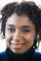 portret van een volwassen vrouw foto