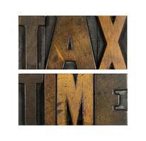belastingtijd foto