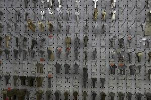 sleutels in de winkel foto
