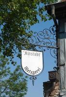 Duitse teken slagerij foto