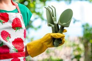 tol voor tuinieren foto