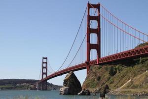 golden gate bridge van San Francisco foto