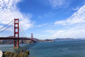 golden gate bridge, san francisco, california, usa foto