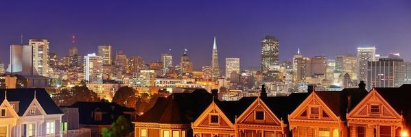 skyline van San Francisco foto