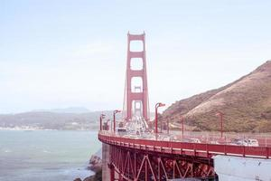 golden gate bridge in San Francisco foto