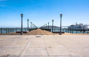 de oceaan pier, San Francisco foto