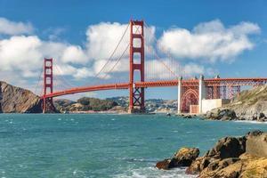 golgen gate bridge, san francisco. foto