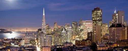 panorama van het centrum van San Francisco foto