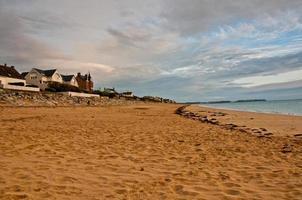 Normandisch strand foto