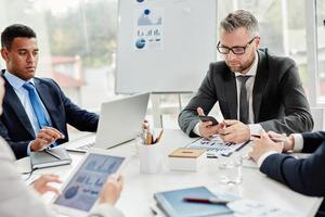 gadgets in het bedrijfsleven foto