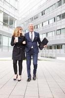 succesvolle zakenmensen portret foto