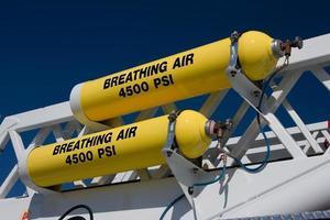 ademende lucht foto