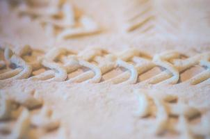 patroon in brood foto