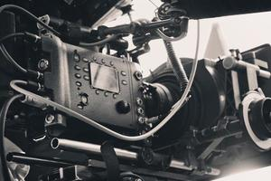 professionele digitale videocamera