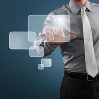 digitale weergave in het bedrijfsleven foto
