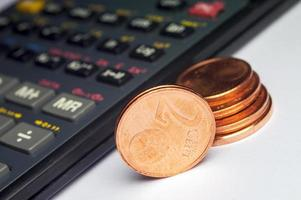 euro's tellen foto