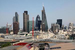 city of london een van de toonaangevende centra voor wereldwijde financiën foto