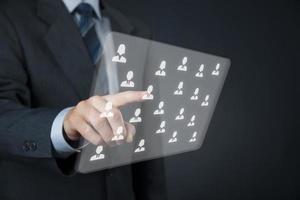 human resources en crm foto