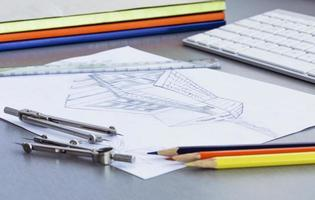 werkplaats van ontwerper