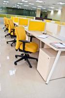 moderne kantoorwerkplek foto