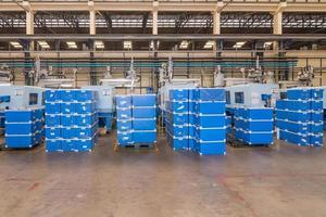 machines in de fabriek foto