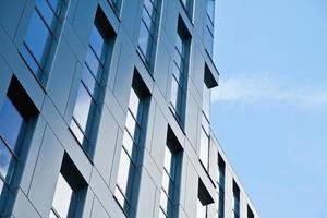 moderne architectuur kantoorgebouw foto