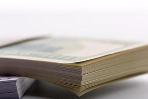 pakken dollars en euro's foto