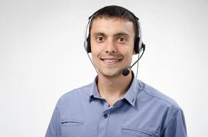 telefoniste, zakenman, manager foto