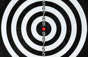 close-up van een dartbord foto