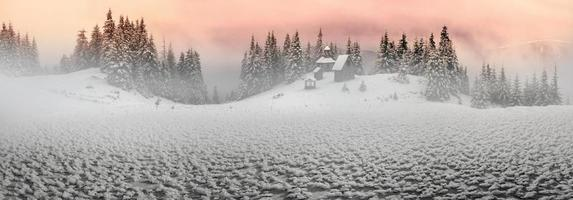 eenzaam klooster foto