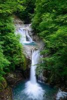 Nishizawa-vallei in Yamanashi, Japan foto