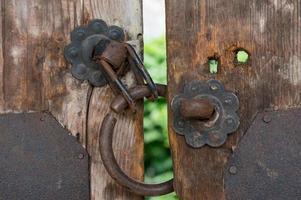 Koreaanse traditionele deurknop foto